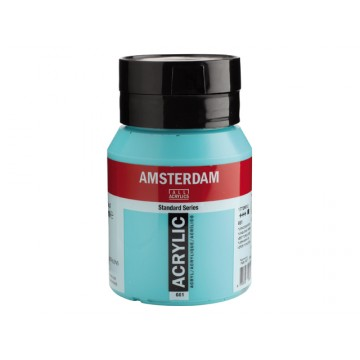 AMSTERDAM Acrylverf 500ml  Turkooisgroen