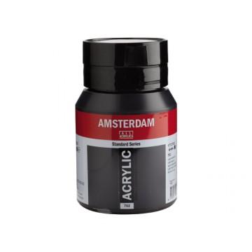 AMSTERDAM Acrylverf 500ml  Lampenzwart