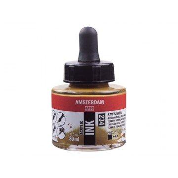 AMSTERDAM Acrylic Inkt 30ml Sienna Natuur