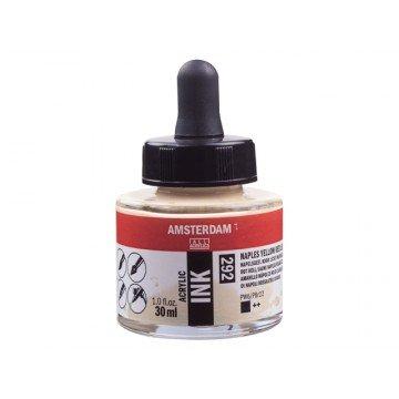 AMSTERDAM Acrylic Inkt 30ml Napels Geel Roodachtig