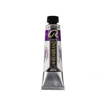 REMBRANDT Acrylverf 40ml Permanent Blauw Violet