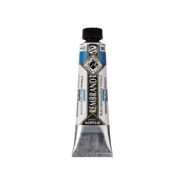 REMBRANDT Acrylverf 40ml Mangaan Blauw Phtalo
