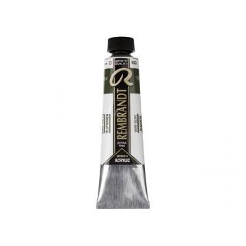 REMBRANDT Acrylverf 40ml Olijfgroen