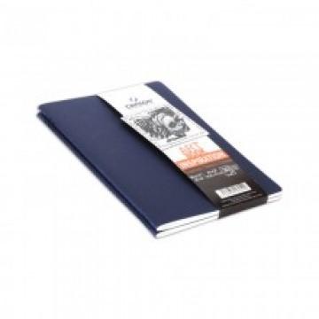 CANSON 2 Schetsboekjes 30vel 96gr Indigo A5