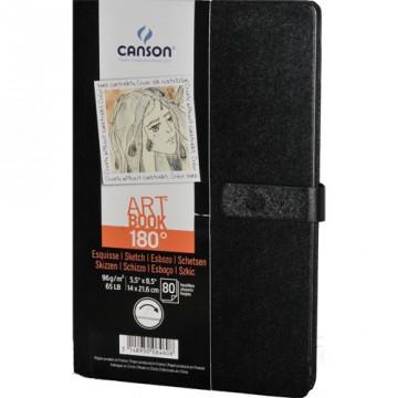 CANSON Schetsblok 180° 80vel 96gr 14x21cm