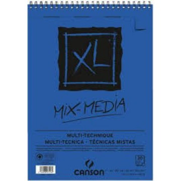 CANSON Gespiraleerd 30Xl  Mix Media A3 300gr Fijne