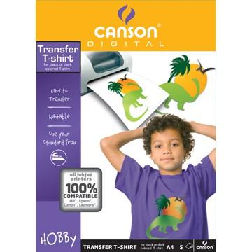 CANSON Map 5Creatie   A4 140gr Transfert Tee Shirt