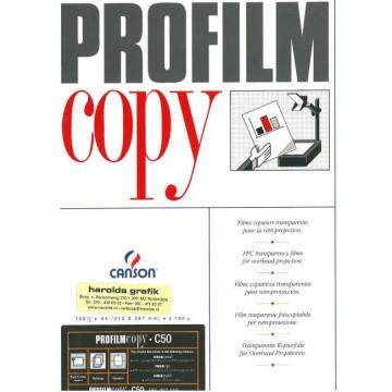 CANSON Doos 100Profilm   A4 0.10mm Copyfilm