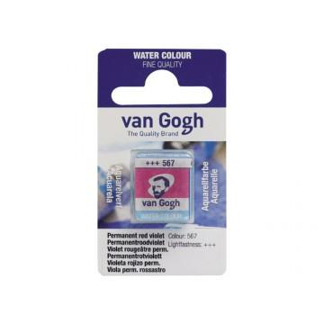 VANGOGH Waterverf napje 13 Permanent Rood Violet