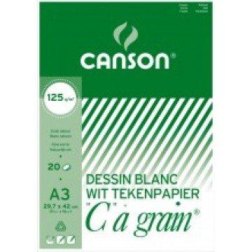 CANSON C à grain 20 vel Tekenpapier A3 125gr