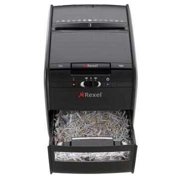 REXEL Papiervernietiger Auto-invoer 65vel