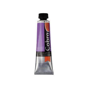COBRA Olieverf Watervermengbaar 40ml Violet