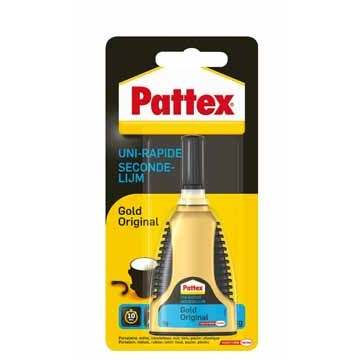 PATTEX Secondelijm Gold Gel 3gr