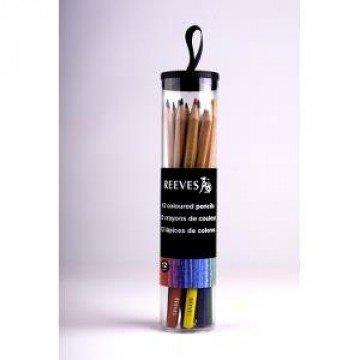 REEVES Potlodenset 16st Kleuren