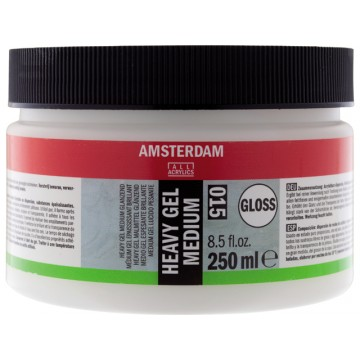 AMSTERDAM Heavy Gel Medium Glanzend 250ml