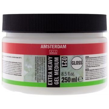 AMSTERDAM Extra Heavy Gel Medium Glanzend 250ml