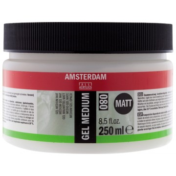 AMSTERDAM Gel Medium Mat  250ml