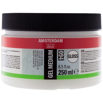AMSTERDAM Gel Medium Glanzend 250ml