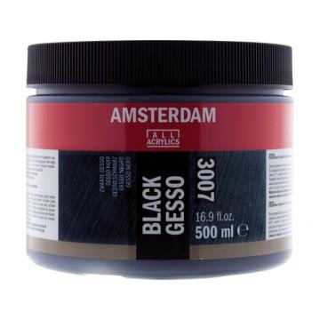 AMSTERDAM Gesso Zwart 500ml