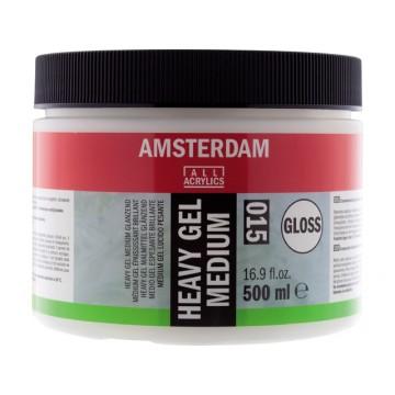 AMSTERDAM Heavy Gel Medium Glanzend 500ml