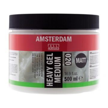 AMSTERDAM Heavy Gel Medium Mat 500ml