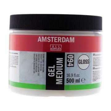 AMSTERDAM Gel Medium Glanzend 500ml
