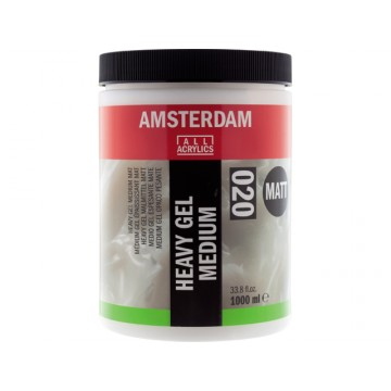 AMSTERDAM Heavy Gel Medium Mat 1000ml