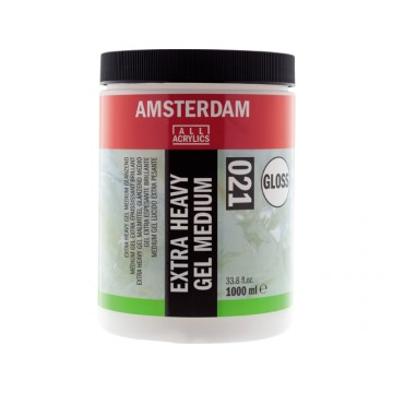 AMSTERDAM Extra Heavy Gel Medium Glanzend 1Liter