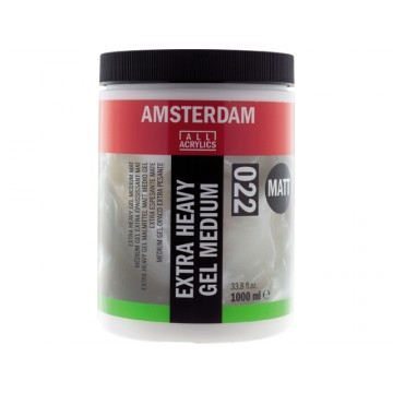 AMSTERDAM Extra Heavy Gel Gel Medium Mat 1Liter