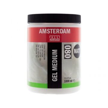 AMSTERDAM Gel Medium Mat 1000ml