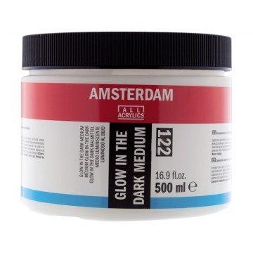 AMSTERDAM Glow in the Dark Medium 500ml