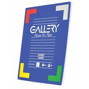GALLERY Schrift 60 Blad Geruit 5mm