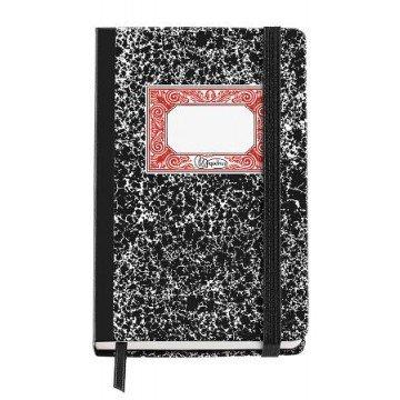 MIQUELRIUS Notaboek Blanco A6 Zwart Gemarmerd