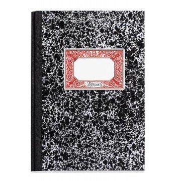 MIQUELRIUS Notaboek Blanco A5 Zwart Gemarmerd