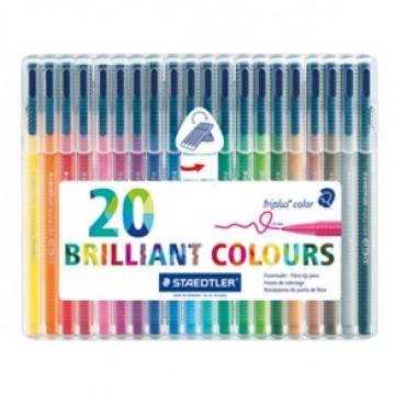 STAEDTLER Triplus Kleurstift 20st in Plastic Etui