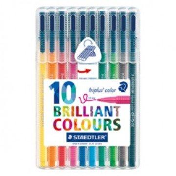 STAEDTLER driekantige kleurstift met Dry Safe inkt