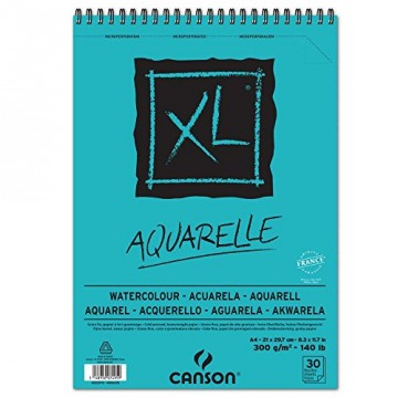 CANSON Aquarelblok 30vel 300gr A4