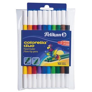 PELIKAN Etui 10 Stiften Colorelle Duo