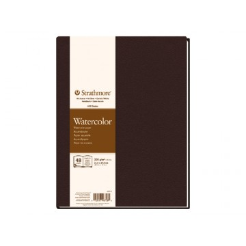 STRATHMORE Aquarelboek 300gr 21,6x27,9cm 24vel