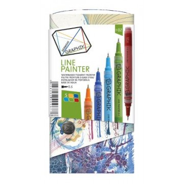 DERWENT Graphik 5 Linepainters 0,5mm Set nr2