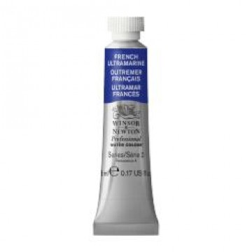 W&N Aquarelverf tube 5ml Ultramarijn Blauw