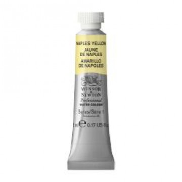 W&N Aquarelverf tube 5ml Napels Geel