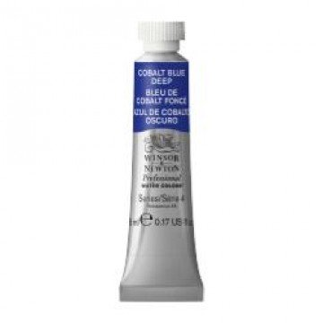 W&N Aquarelverf tube 5ml Kobaltblauw Donker