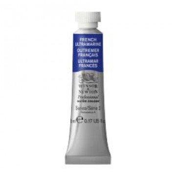 W&N Aquarelverf tube 5ml Ultramarijn Blauw