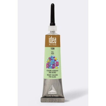 IDEA Tube 20ml Relief voor Glas Goud