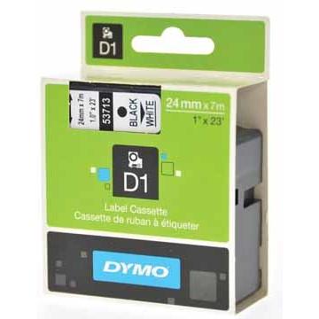 DYMO Tape 24mm Zwart op Wit