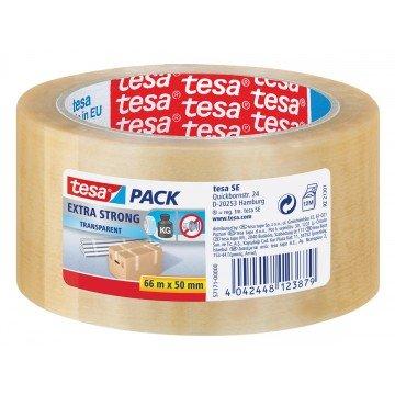 TESA Verpakkingstape 50mm x 66m PVC Transparant