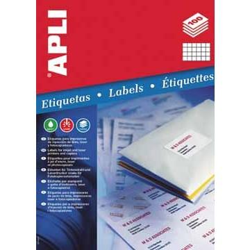 APLI Doos 100 Etiketten 1272  70x35mm