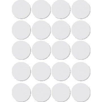 APLI onde etiketten in etui diameter 19 mm, wit