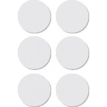 APLI ronde etiketten in etui diameter 32 mm, wit
